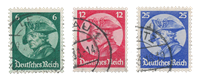 Empire Allemand - 1933 -  Michel 479/481 - Oblitéré