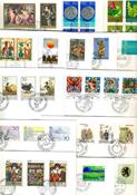Liechtenstein - Duplicate lot first day covers