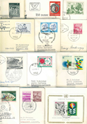 Austria - Duplicate lot first day covers