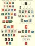 Pays-Bas - Collection en album préimprimé de Schaubek