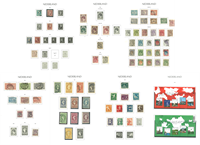Pays-Bas - Collection en 2 albums Leuchtturm avec pochettes