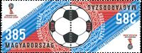 Ungarn - VM i fodbold - Postfrisk parstykke