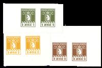 Grønland pakkeporto 1915 prøve