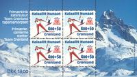Groenland - 1994. Bloc-feuillet de 4 timbres no GL245