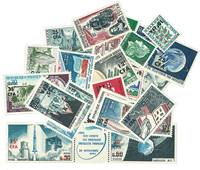 Reunion - Stamp packet - Approx. 27 mint stamps