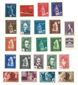 Timbres Croix Rouge
