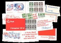 Danmark  - 8 hæfter - postfrisk