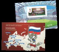 Russie - FIFA WC 2018 / Stadiums - PBK - Carnet de prestige neuf