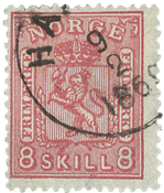 Norge - 1869