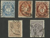 Norge - 1863-75