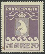 Grønland - Pakkeporto - 1930