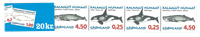 Carnet de timbres pour distri- buteurs 1