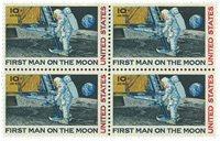 USA - Månelanding postfrisk fireblok
