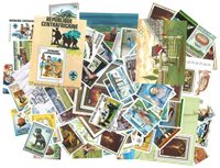 Centralafrika 1980-1990 143frimærker +27 miniark