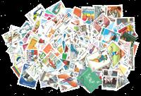 200张不同有关运动的邮票