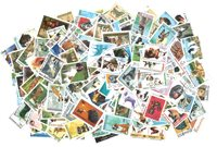 Dogs and cats - 250 different stamps