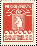 Grønland pakkeporto AFA 16 postfrisk