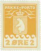 Grønland pakkeporto AFA 5 ubrugt