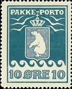 Grønland pakkeporto AFA 7I unused