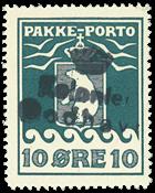 Grønland pakkeporto AFA 15 #