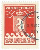 Grønland pakkeporto AFA 16 #
