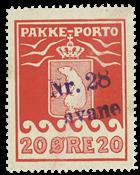 Grønland pakkeporto AFA 9 #