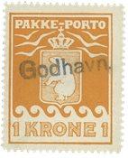 Grønland pakkeporto AFA 11 #