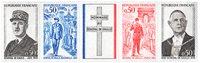 Frankrig - Postfrisk sæt *Charles de Gaulle*
