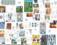 France/Monaco - Lot d'enveloppes premier jour