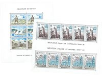 Monaco - Blocs-feuillets CEPT 1977+1979, neufs