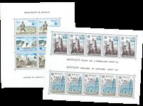 Monaco - Miniark CEPT 1977+1979, postfrisk