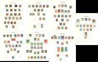 Danemark - Collection sur feuilles d'album