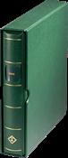LEUCHTTURM reliure à barre rotative  *PERFECT*, SIGNUM, avec étui deprotection, vert