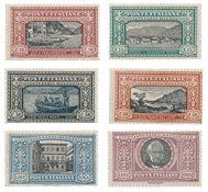 Italien 1923 - Sassone 151-56 - Ubrugt