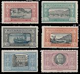Italie - 1923 - Sassone 151-56 - neuf avec charnière