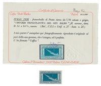 Italien 1930 - Sassone A25 - Postfrisk