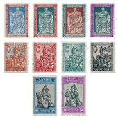 Italien 1928 - Sassone 226/38 - Postfrisk