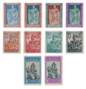 Italie - 1928 - Sassone 226/38 - neuf