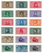 Italie - 1932 - Sassone 303/14 + A26/31 - neuf