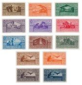 Italien 1930 - Sassone 282/90 + A21 / 24 - Postfrisk