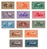 Italie - 1930 - Sassone 282/90 + A21/24 - neuf