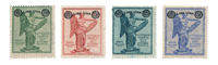 Italie - 1924 - Sassone 158/61 - neuf