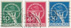 Berlin - 1949 - Michel 68-70 - oblitéré
