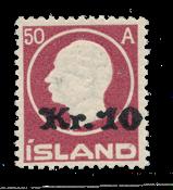 Island 1925 - AFA 119 - Postfrisk