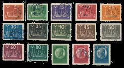 Sverige 1924 - AFA 159/73 - Stemplet