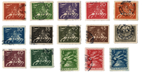 Suède - 1924 - 174/88 - oblitéré