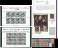 Liechtenstein - Carton trouvailles