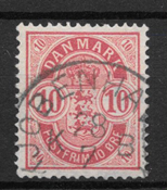 Danemark - AFA 35a - Obliteré