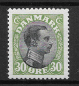 Danmark  - AFA 103 - ustemplet