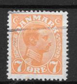 Danimarca - AFA 98y - timbrato